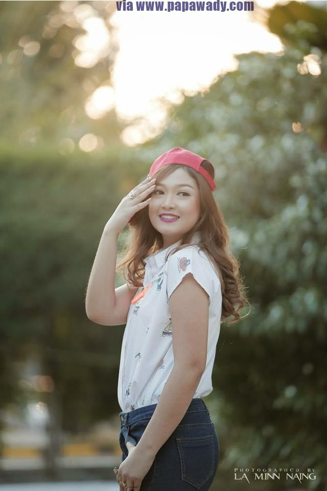 San Yati Moe Myint-  Beautiful Girl and Sunny Day