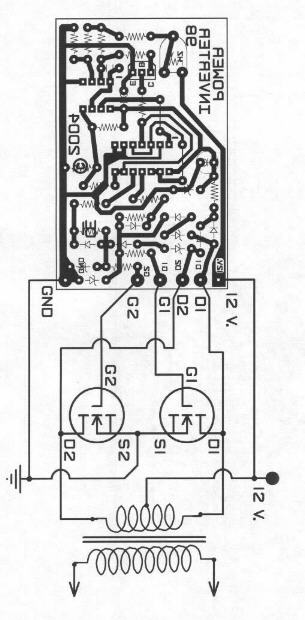 500w mos 220v circuit diagram