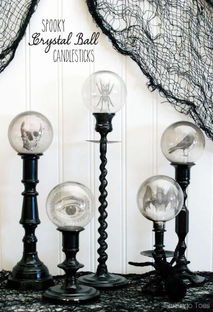 http://www.flamingotoes.com/2013/10/spooky-crystal-ball-halloween-candlesticks/