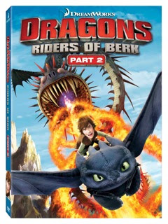Dragons: Riders of Berk Part 1 and 2 giveaway
