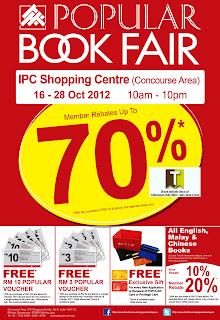 Popular Book Fair IPC 2012