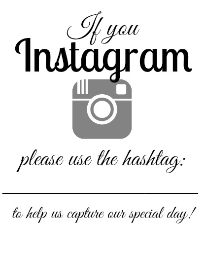 Click Here To Print The If You Instagram Vertical Free Printable Sign