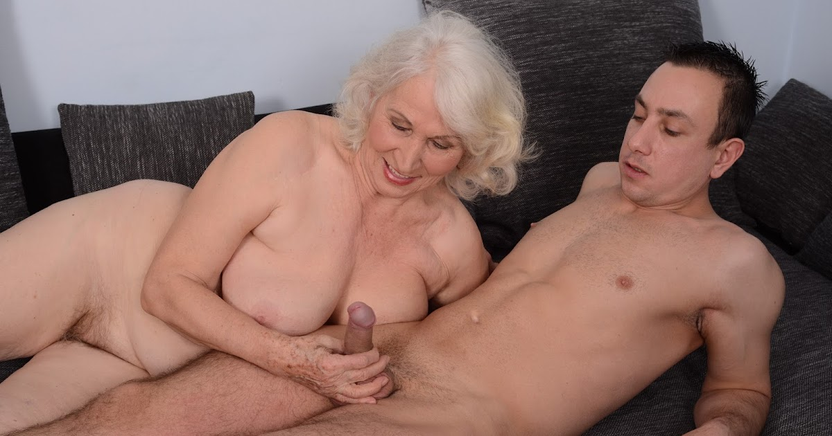 Old Lady And Young Boy Porno