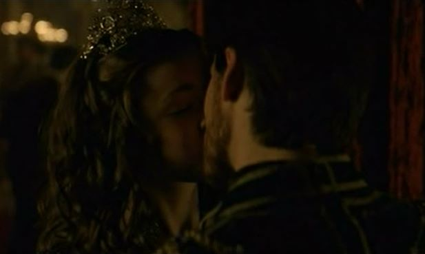 Duke Philip kisses Lady Mary