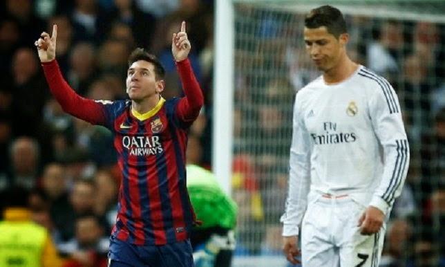 مقارنة بين عدد ضربات جزاء برشلونة و ضربات جزاء ريال مدريد