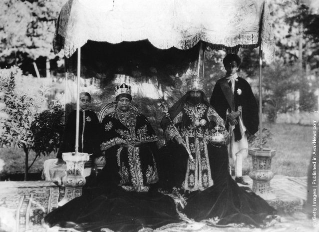Image result for Haile Selassie Coronation