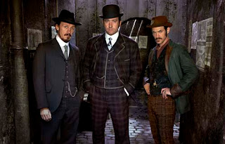 Jerome Flynn, Matthew Macfadyen, Adam Rothenberg in Ripper Street