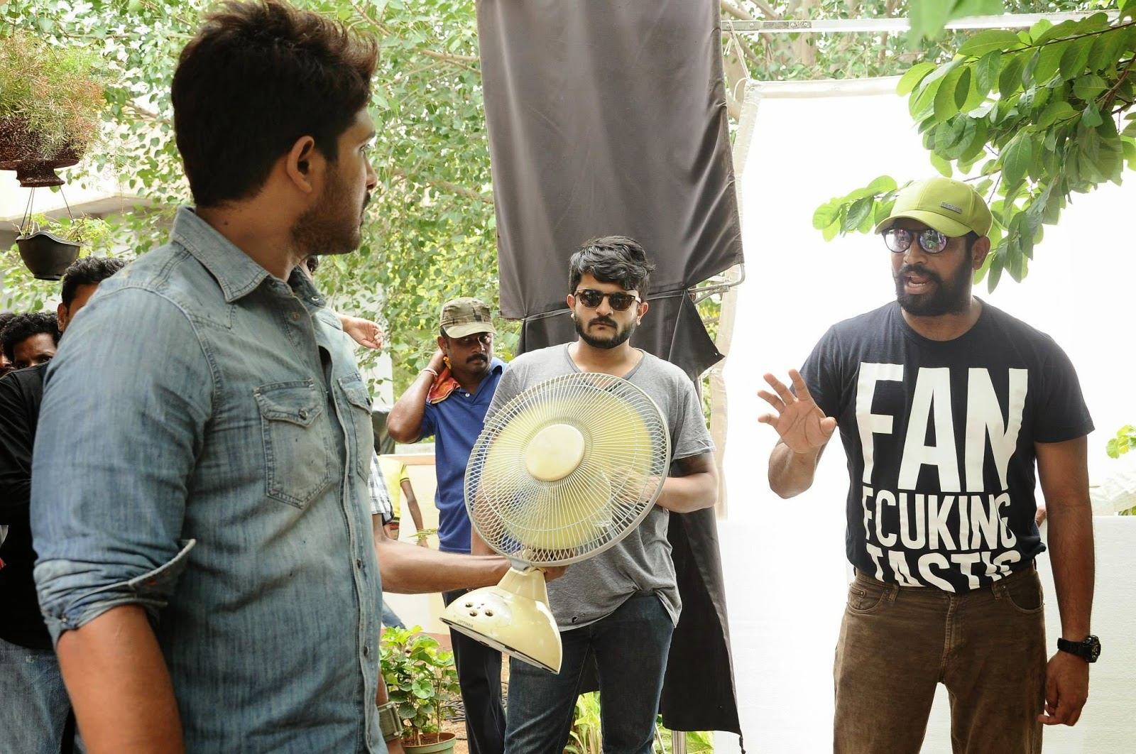 Olx New ad working stills | Allu Arjun | Regina