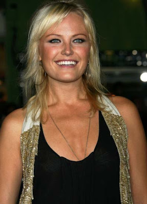 Malin Akerman Gold Hoop Earrings