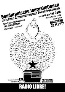 Podiumsdiskussion mit Felix Molina