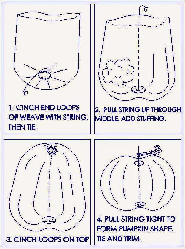 Knifty Knitter Pumpkin Instructions