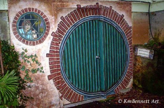 D5 - Hobbit door