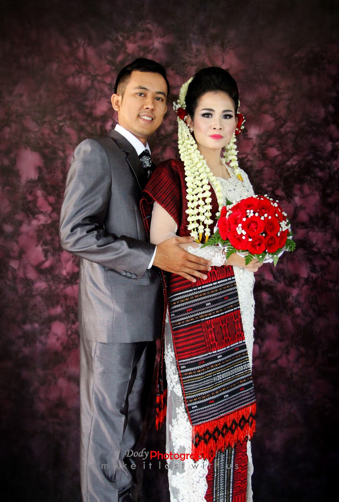 Songket kebaya wedding