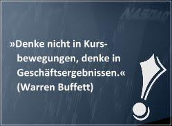 Investiere wie Warren Buffett