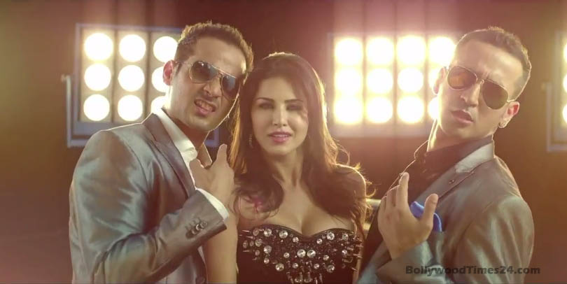 Sunny Leone Hot Screenshots,Image,Photos In Pink Lips Song