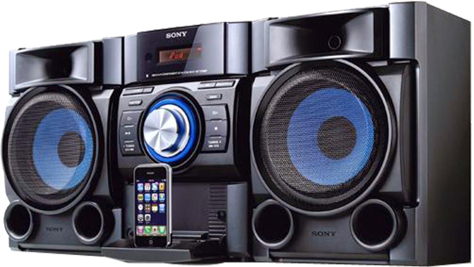 equipos de sonido y video: