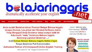 Situs Belajar Bahasa Inggris Online