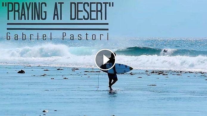 quot PRAYING AT DESERT quot GABRIEL PASTORI