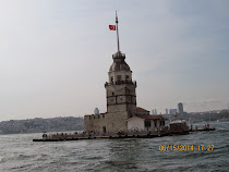 The Maiden Tower, off the coast of Uskudar, Istanbul (Asian side), Turkey