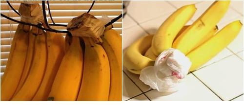 menyimpan pisang agar tidak busuk