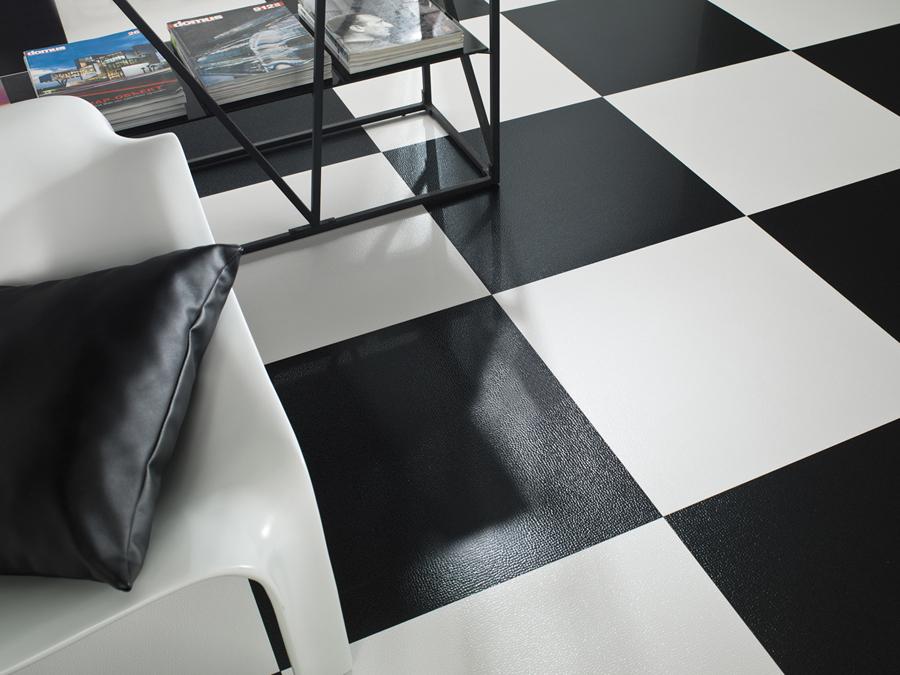 Manhattan de porcelanosa suelos modernos que dejan huella - Como dar brillo a un suelo de gres mate ...