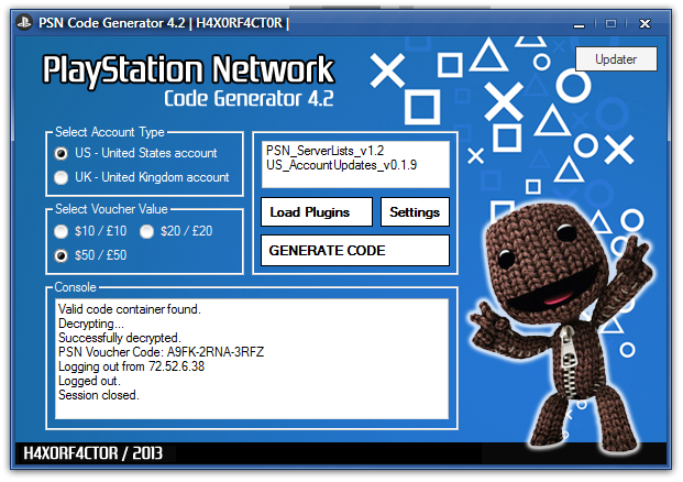 psn codes generator download free