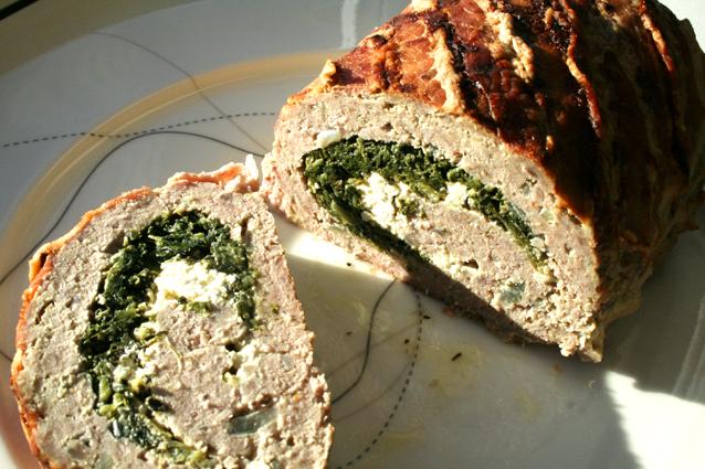 Tabernes Opskrifter Farsbrød Med Spinat Og Feta