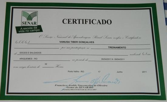 Curso com certificado gratis