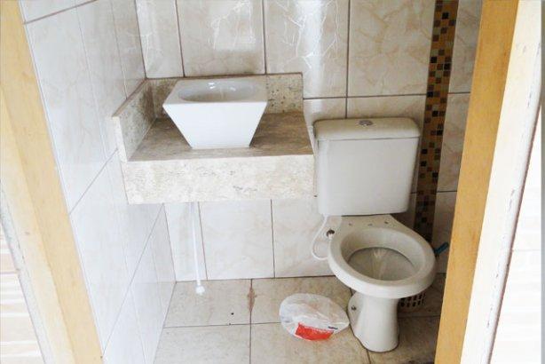 Pias dos Banheiros ~ Reforma Aí -> Pia Banheiro Bege Bahia