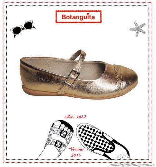 calzado infantil verano 2014 botanguita