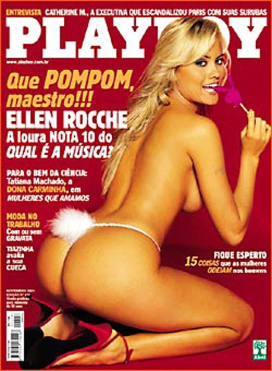 Ellen Roche Nua Fotos Da Revista Playboy