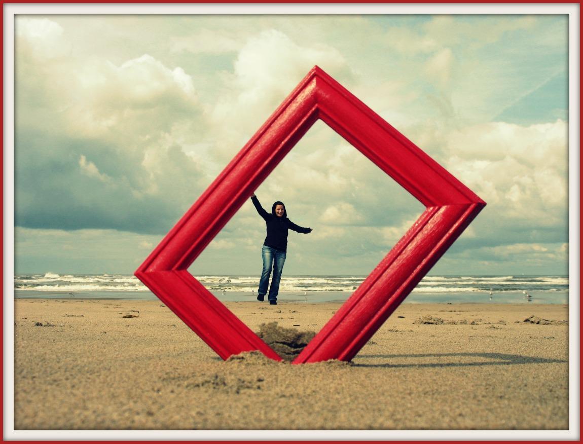 artig by Mimi: Der rote Rahmen