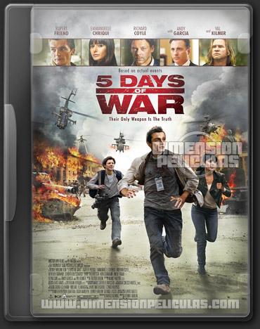 5 dias de guerra (BRRip Español Latino) (2011)