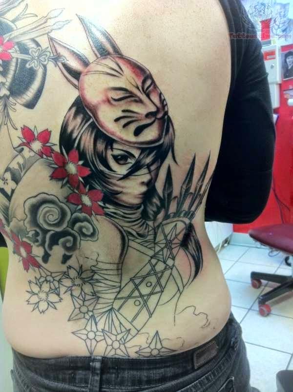 Tatuagem ninjas
