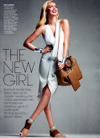Kate Upton looking glamorous in Vogue November 2012 issue