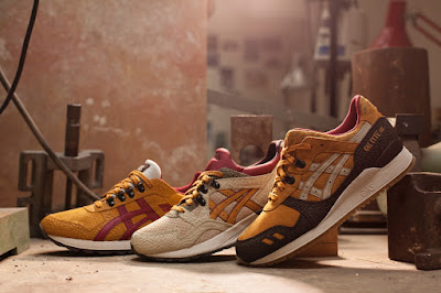Asics Tiger, Asics, Workwear pack, sneakers, Gel-Lyte III, Gel-Lyte V, zapatillas, Fall 2015, Suits and Shirts,