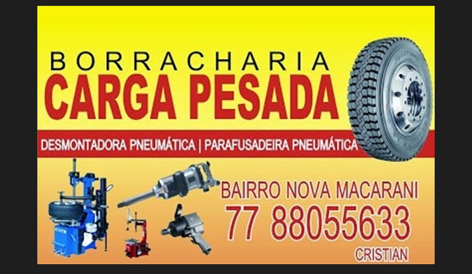 BORRACHARIA CARGA PESADA
