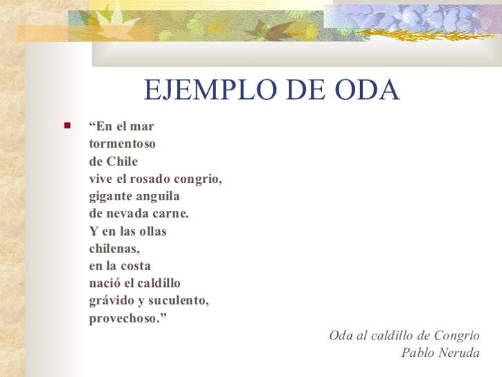 genero literario poesia: