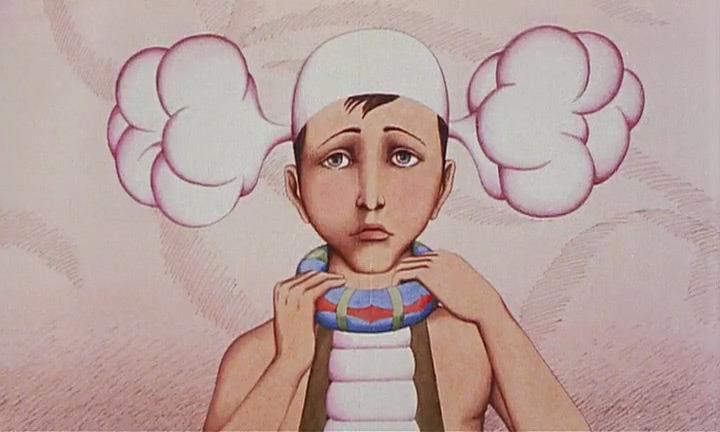 La planète sauvage | El Planeta Salvaje (1973) - René Laloux. Animation