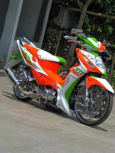 Modifikasi Honda Revo Terkeren 2014 , semoga menginspirasi anda untuk title=