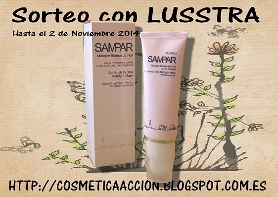 SORTEO CON LUSTRA