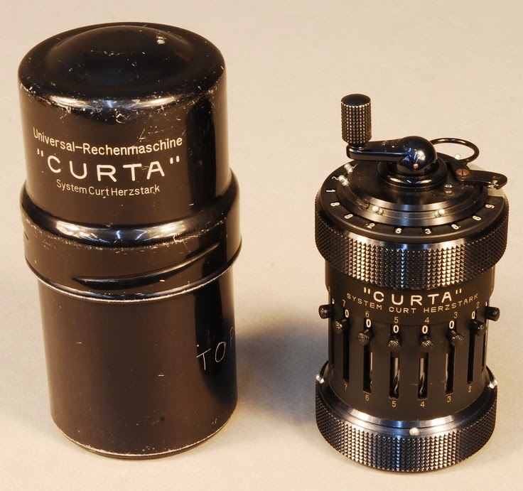 Hand-cranked Calculator Curta