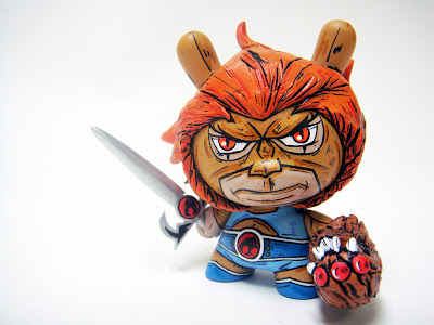 Lion-O Custom ThunderCats 3&#8221; Dunny by Nikejerk