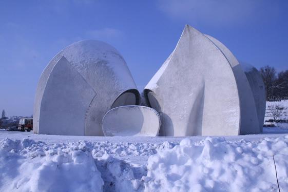 Construcciones socialistas de aspecto futurista Sovietmodernism8