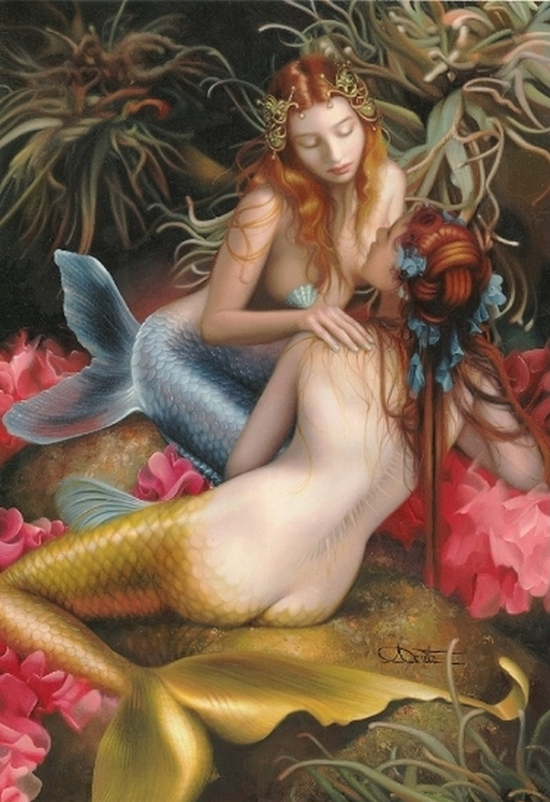 Fantasy sex erotica mermaid art sexy photos