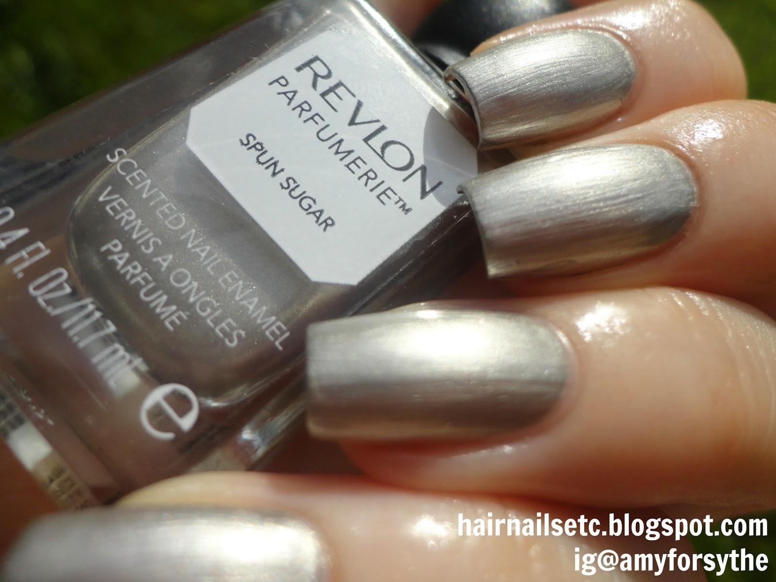 Swatch and review of Revlon Parfumerie Nail Enamel Varnish Polish in Spun Sugar