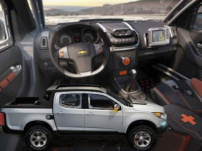 Concept Cars 2000 2011 Chevrolet Pickup Colorado Rally Concept
