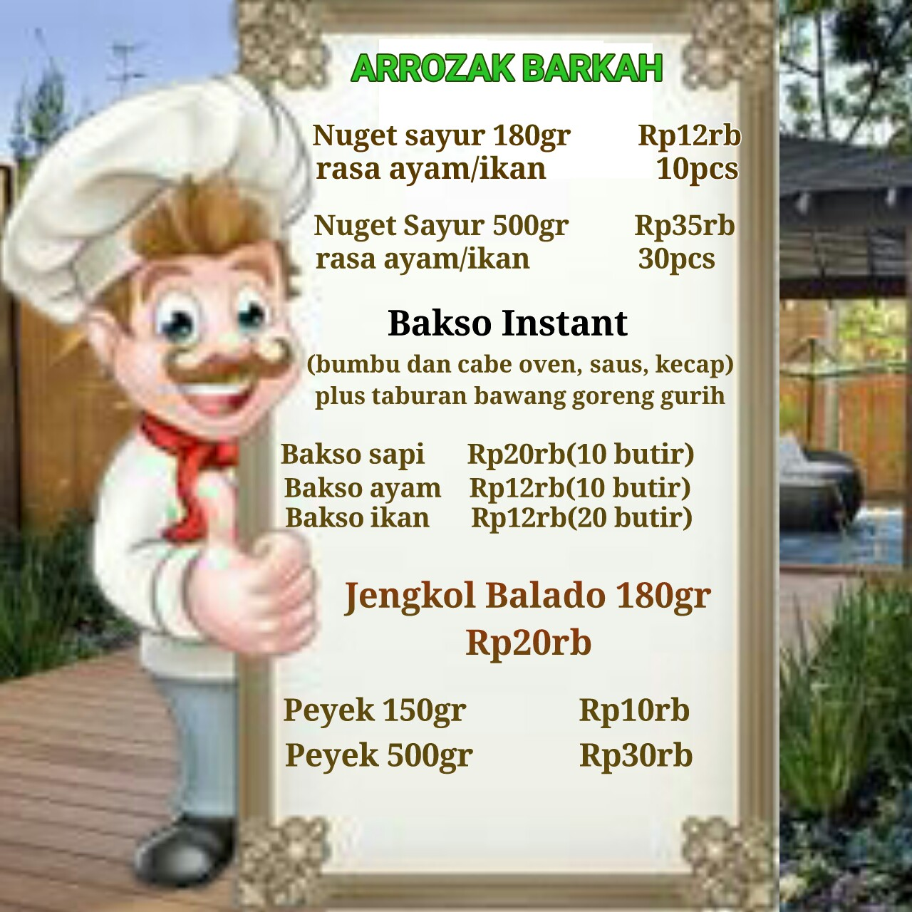 ARROZAK BARKAH PRODUCT