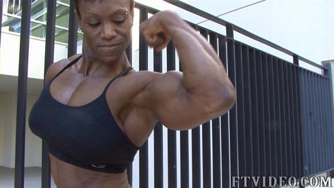 Cassandra Wilson Female Muscle Bodybuilding Blog FTVideo