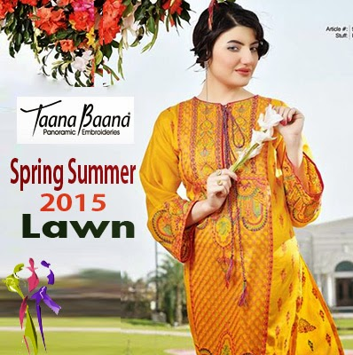 Taana Baana Summer Spring Lawn Collection 2015